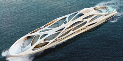 Superyacht by Zaha Hadid for Blohm+Voss | Architecture and Architectural Jobs | Scoop.it