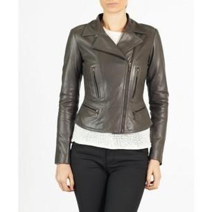 Cristal elegant leather biker jacket by hElium hE^2   Leather   Scoop.it