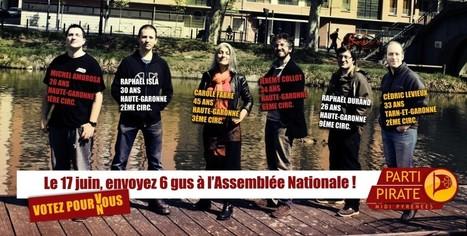 Le 17 juin, envoyez 6 gus à l'Assemblée Nationale ! #Législatives2012 | Toulouse networks | Scoop.it