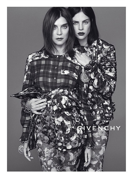 GIVENCHY / FALL WINTER 2013/14 AD CAMPAIGN BY MERT & MARCUS WITH CARINE ROITFELD | fashion on dapaper mag | Scoop.it