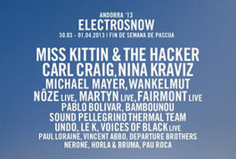 Carl Craig billed for ElectroSnow 2013 | DJing | Scoop.it