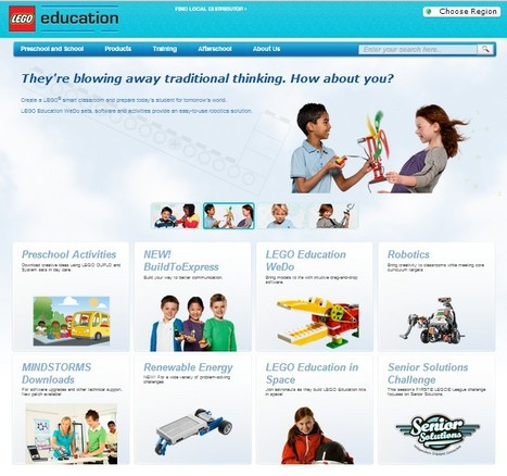 LEGO.com Education | 21st Century Tools for Teaching-People and Learners | Scoop.it