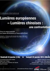 """LIS - Colloque international """"Lumières européennes – Lumières chinoises : une confrontation""""   Lettres Idées Savoirs   Scoop.it"""
