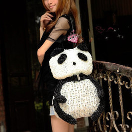 Medium Anteprima Rhinestone Bags Version Panda Toy Handbags [women-bags-035] - $176.00 : Hello Kitty Bags For Ladies, Anteprima Bags Style Stereo Hello Kitty Bags ,Panda Bags , Diamond Bags For Wom... | Amazing Hello Kitty Bags | Scoop.it