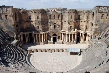 Ancient Roman Theaters | Ludi Scaenici | Scoop.it