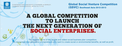 Global Social Venture Competition - South East Asia Regional Round - | Inclusive Business in Asia | Scoop.it