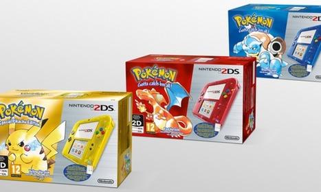 Confirmados los packs 2DS con Pokémon Rojo, Azul y Amarillo | Noticias Anime [es] | Scoop.it