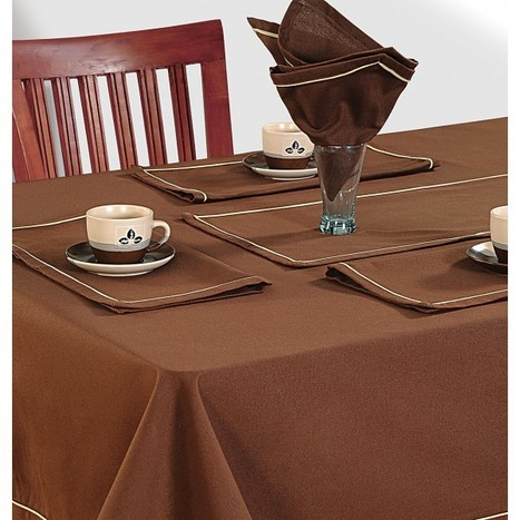 Brown Table Cloths | TableCloths | Scoop.it