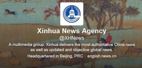The Awkward Twitter Adolescence of China's Largest State News Agency | News on News | Scoop.it