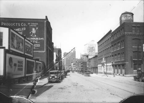 Rue Saint-Antoine, décennie 1920   Photos ancestrales de Montréal   Scoop.it
