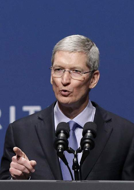 Apple's Tim Cook Accuses Facebook and Google of Violating User Privacy   All about Business   Scoop.it