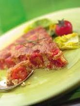 Clafoutis à la tomate et au thon, recette facile | livre de recettes faciles | Scoop.it