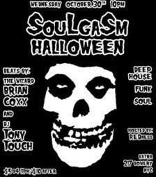 """SOULGASM HALLOWEEN """"The Wizard"""" Brian Coxx and DJ Tony Touch   Queens Our City Radio Dance Music News   Scoop.it"""