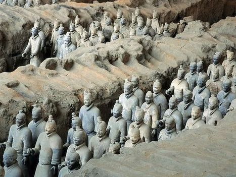 Emperor Qin's Terra Cotta Army - National Geographic | World Civilizations | Scoop.it