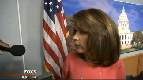 Bachmann aides shove reporters in flight from ethics questions | The Raw Story | POLITICAL ETHICS | Scoop.it