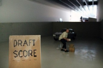 DRAFT SCORE FOR AN EXHIBITION   PIANO   CAC Brétigny   Scoop.it