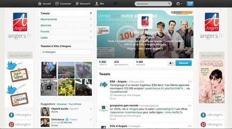 Le compte Twitter de la ville d'Angers, le plus pertinent des grandes villes françaises - L'effet Papillon | Marketing territorial VS communication citoyenne | Scoop.it