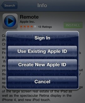 Best Practices for Creating Apple IDs | iPads and Tablets in Education | Scoop.it