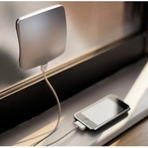 Portable Window mounted solar power charger for iPhone or iPad   midisyen   Scoop.it
