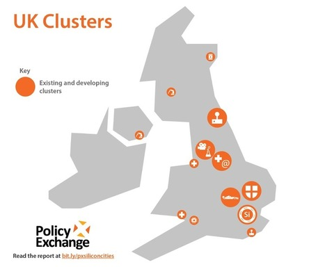 Silicon Cities: An infographic map of UK's clusters | Ideas, Innovation & Start-ups | Scoop.it