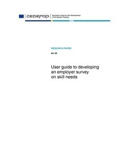 Cedefop | Publications | User guide to developing an employer survey on skill needs | Lifelong and Life-Wide Learning | Scoop.it