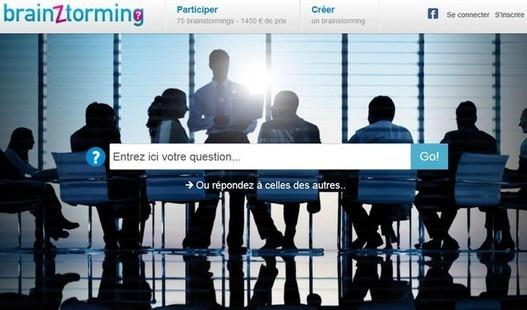 Brainztorming : créer un brainstorming en ligne