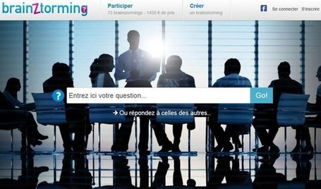 Brainztorming : créer un brainstorming en ligne | formation 2.0 | Scoop.it