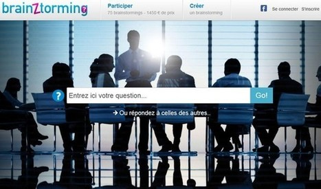 "Brainztorming : créer un brainstorming en ligne | ""blended learning"" - multimodal - multi-ressources pédagogiques 