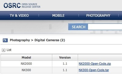 The code of the Samsung NX200 and NX300 mirrorless cameras is now available as open source | HDSLR | Scoop.it