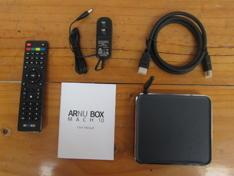 ARNU Box Mach 10 Pure Linux TV Box Specs, Unboxing, and Teardown | Embedded Systems News | Scoop.it