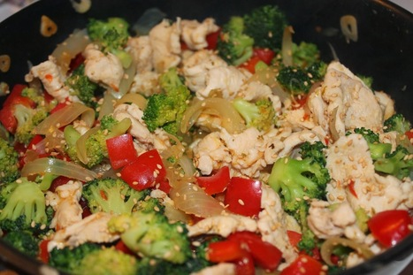 Enkla och Snabba Recept: Stekt kyckling med broccoli | Recept | Scoop.it