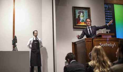 Quand l'ex patron de de l'art contemporain de Sotheby's racontait sa ... - Les Échos (Blog) | TPE | Scoop.it