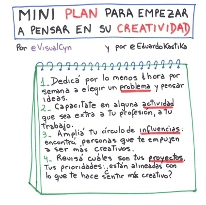 Mini plan para ARRANCAR con su creatividad, por @EduardoKastika | Orientar | Scoop.it