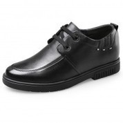 Lace up casual dress shoes add taller 6.5cm / 2.6inch - MEN_00474 | dress elevator shoes for men get taller | Scoop.it