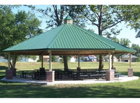 Octagonal Steel Shelter - Commercial Playground Equipment - APCPLAY | APC Play | Scoop.it