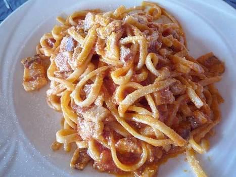 Making Pasta all'Amatriciana: Video | La Cucina Italiana - De Italiaanse Keuken - The Italian Kitchen | Scoop.it