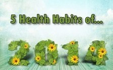 """5 New Health Habits for 2014 (""""for those who believe in lasting lifestyle improvements"""") 