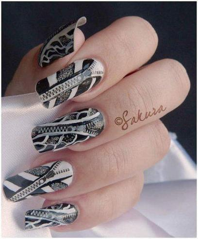 Sakura Nail Art Designs|For Young Girls & Women - ..:: Fashion Wd Passion ::.. | Live a Stylish Life | Scoop.it