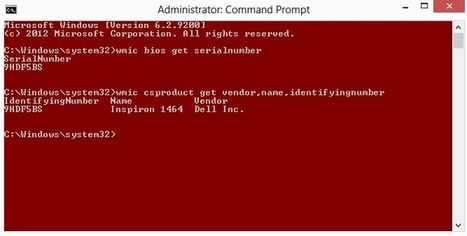 How to Find Dell Service Tag and Express Service Code using CMD ~ INDIALOTS | mybloggerstuff | Scoop.it