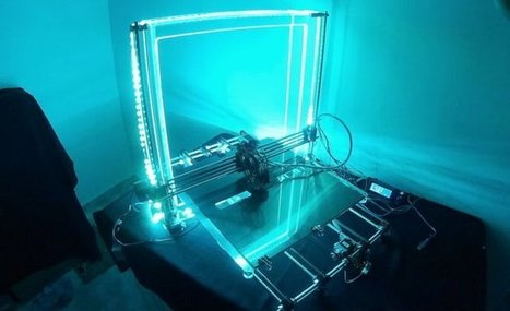 Want an Enormous 3D Printer? Aldric Negrier is There for You with the Mega Prusa i3 | Peer2Politics | Scoop.it