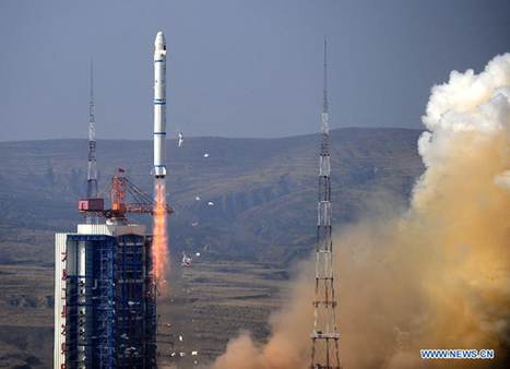 China launches civilian technology satellites - Xinhua | English.news.cn | Chinese Cyber Code Conflict | Scoop.it