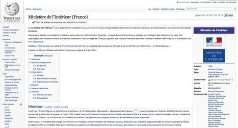 Accusé de trolling, le ministère de l'Intérieur se retrouve bloqué par... Wikipédia   TdF      Culture & Société   Scoop.it