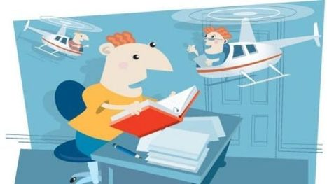 Homework helicopter parents leave kids scared of making mistakes | Parenting | Scoop.it