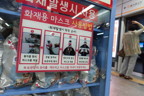 Métro de Séoul: stérilisateur, jardin et masques à gaz | Le Parfum des Mandarines | Scoop.it