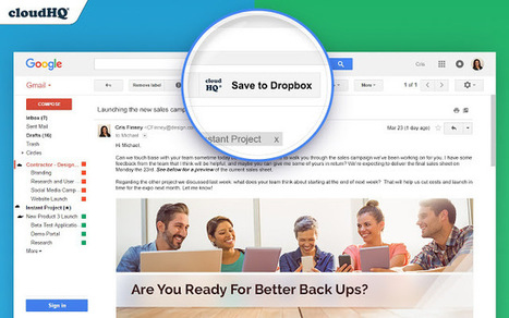 One-click Solution To Save Emails to Dropbox | Dropbox | Scoop.it