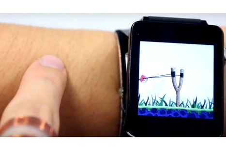 SkinTrack could turn your skin into a touchscreen (Wired UK) | Cyborg Lives | Scoop.it