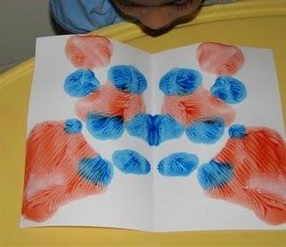 ಪುಟ್ಟಿ ಪ್ರಪಂಚ: Paint Blots !!   Teach Preschool   Scoop.it