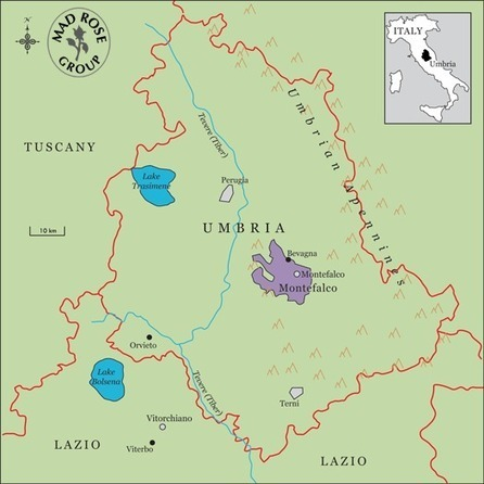 Umbria, rugged but not rustic | Pressed for Thought | Umbria and Tuscany | Scoop.it
