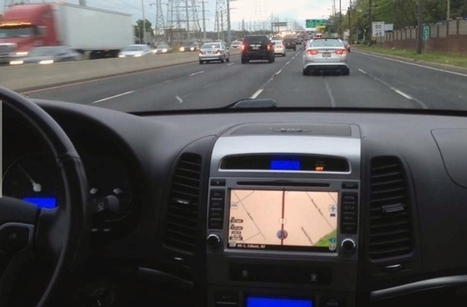 NuShield Anti-Glare Technology Helps Drivers Read Their GPS Display on the Road | Location Is Everywhere | Scoop.it
