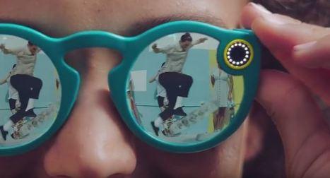 La start-up Snapchat devient Snap et lance ses lunettes Spectacles | Référencement internet | Scoop.it